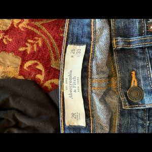 Abercrombie distressed jeans
